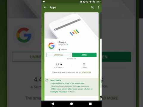 Google play store New CARD STYLE layout