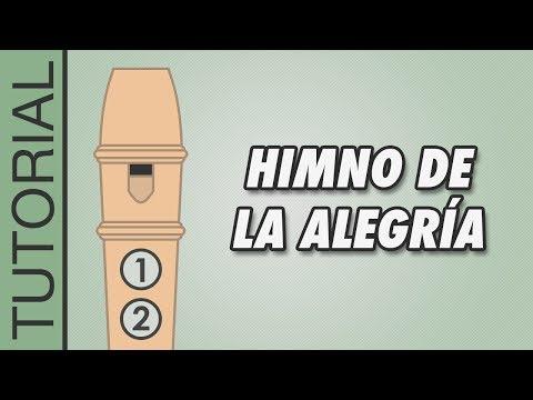 Cómo tocar el Himno de la Alegría en Flauta Dulce - Canciones Fáciles - Tutorial con Notas