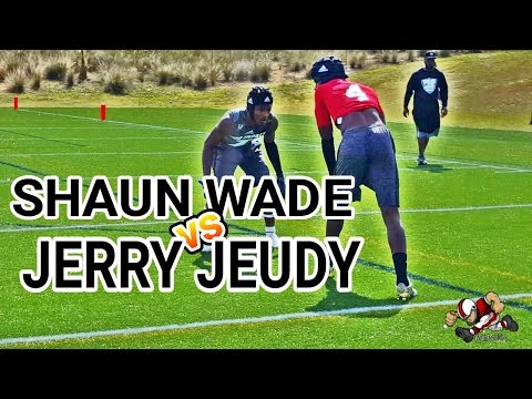 Shaun Wade (Trinity Christian) CB vs Jerry Jeudy (Deerfield Beach)WR