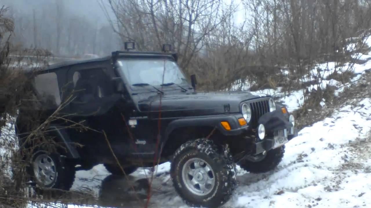 """Jeep Wrangler Tj >> hinzes wrangler tj on 31"""" bfg mud terrain - YouTube"""