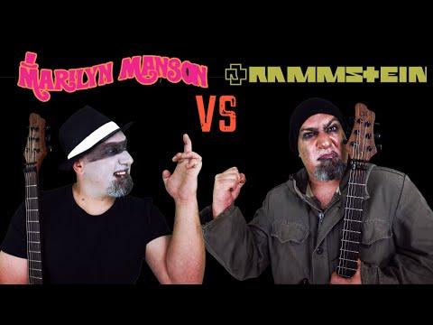 Marilyn Manson VS Rammstein (Guitar Riffs Battle)