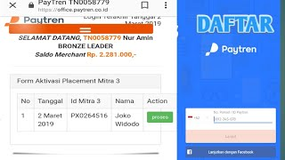 Bapak Joko Widodo Daftar PayTren Resmi Bergabung Menjadi Mitra Pebisnis PayTren