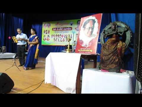 MADHURA BHAVALA SUMAMALA BY V VENUGOPAL RAO & PADMASRI