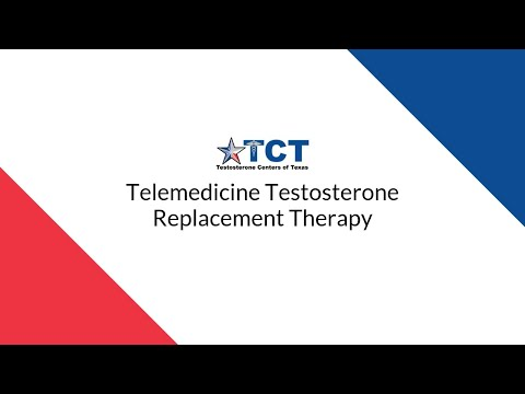 Telemedicine TRT—Video-Conference Testosterone Replacement Therapy (Texas Only)