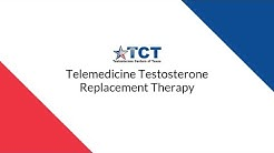 Telemedicine Testosterone Replacement Therapy (Texas Only)