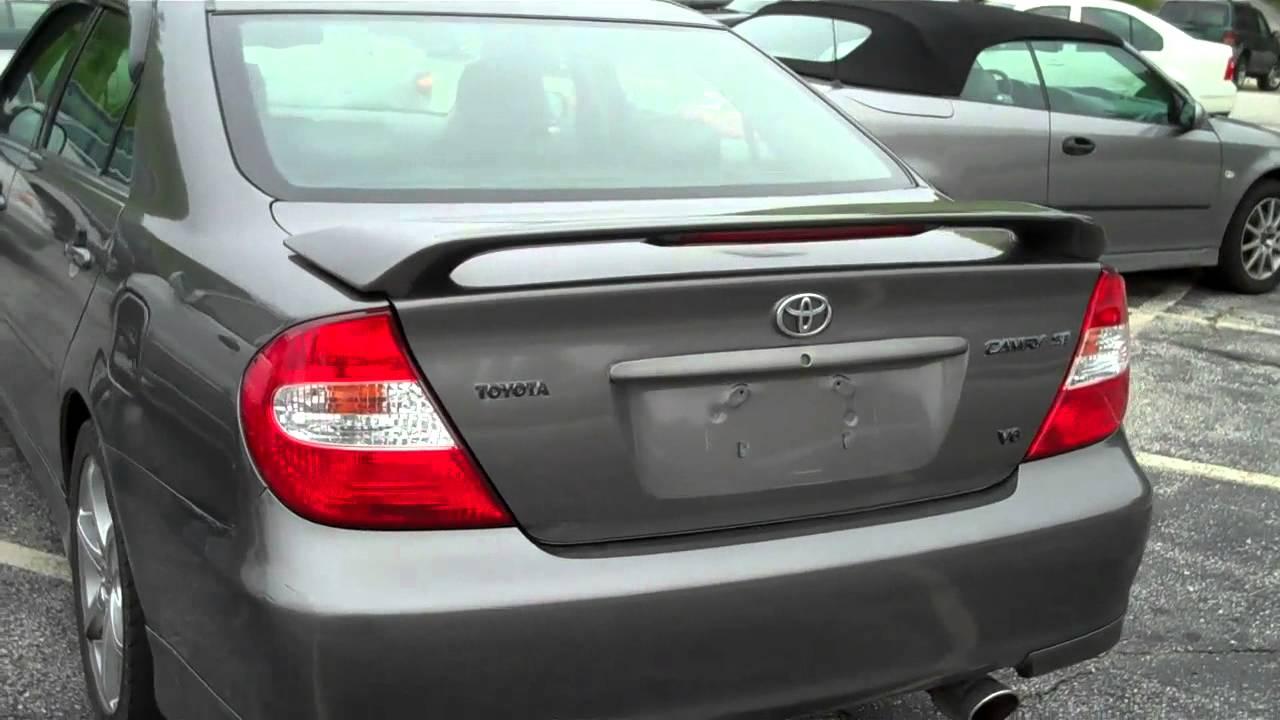 Great 2004 Toyota Camry SE V6 $6995