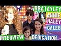 Annie LeBlanc, Caleb,  & Hayley - Only Interview Together Dedication to Caleb Logan Bratayley