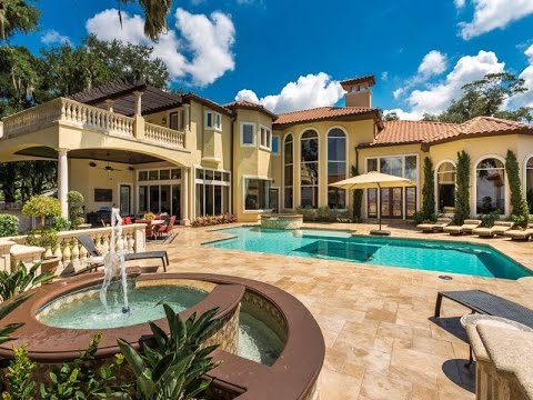 Stately Mediterranean Estate in Jacksonville, Florida
