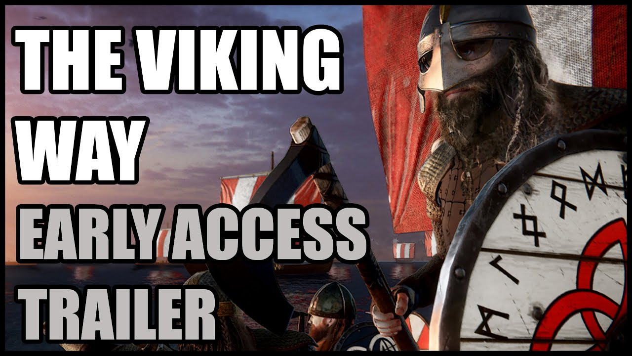 The Viking Way Early Access Gameplay Trailer is out!