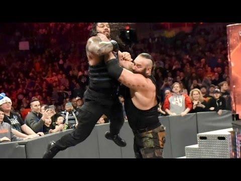 Download Braun Strowman Attack's Roman Reigns & Seth Rollins WWE Raw 12/27/16 HD
