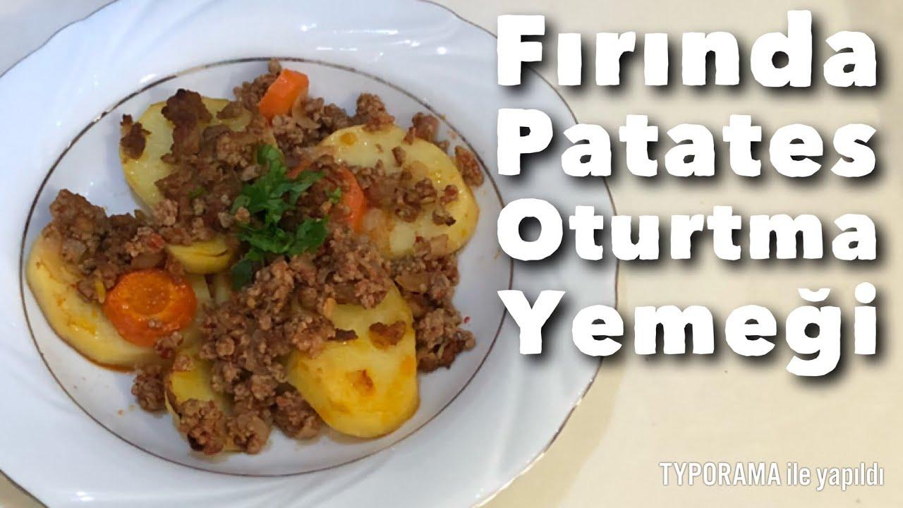 Sebzeli Patates Oturtma Tarifi – Sebze Yemekleri