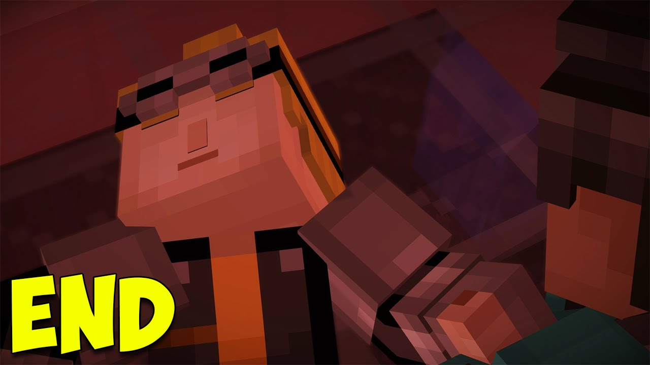 Minecraft Story Mode Episode 7 Is Lukas Dead The End Youtube