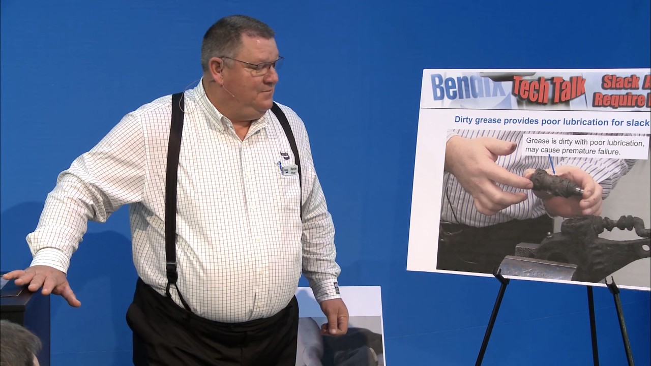 Bendix Tech Talk: Slack Adjusters DO Require Regular Maintenance
