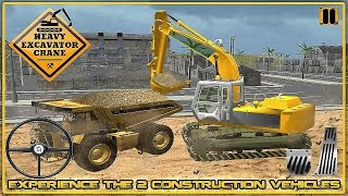 Heavy Excavator Crane 3D - Gameplay Android