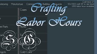 Naval Action - Crafting 1: Labor Hours