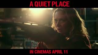 Silence is survival. #AQuietPlace