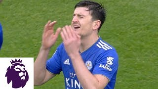 Harry Maguire sent off less than four minutes in matchup with Burnley | Premier League | NBC Sports