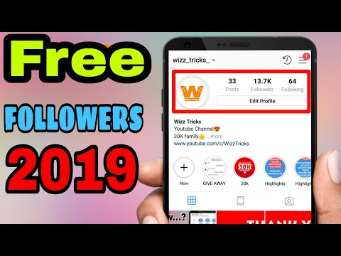 How To Get INSTAGRAM FOLLOWERS For FREE 2019 | NO SURVEY