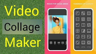 How to make collage video || video collage maker || Add multiple videos in one screen || screenshot 2