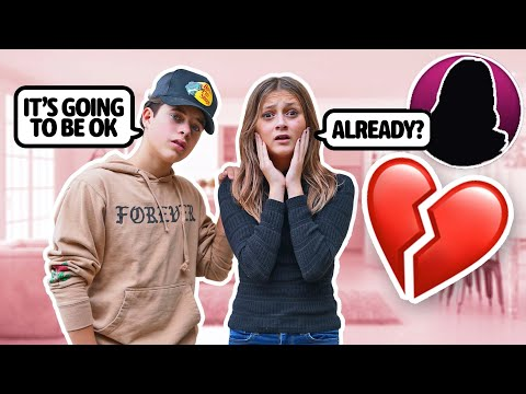 Reacting To My EX-BOYFRIEND'S New GIRLFRIEND...**EMOTIONAL**💔😭| ft. Gavin Magnus & Walker Bryant