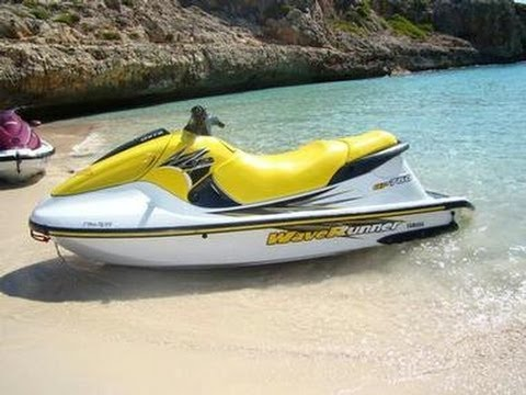 Mini yamaha waverunner 760 4 youtube for Yamaha wave runner price