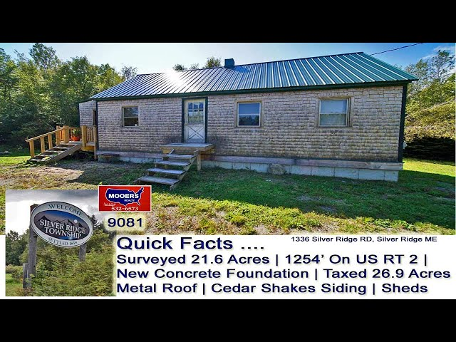 2nd Home In Maine Video   Maine Real Estate MOOERS REALTY 9081