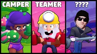 Types of Showdown Players in Brawl Stars | (Stereotypes)