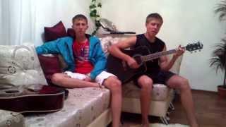 ПАРНИ КЛАССНО ПОЮТ!!!(Ты ушла от меня)/Madi ti ushla ot menya(cover)