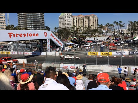 IndyCar Racing Long Beach Grand Prix LBGP 2015 Scott Dixon Will Power Race Tony Kanaan