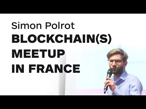 Blockchain(s) meetup in France by Simon Polrot   Merkle Conference Paris
