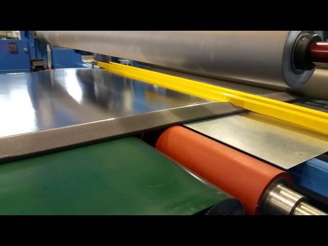 FEBA Systems Laminator - Foil to Foam Lamination w/ Slitting