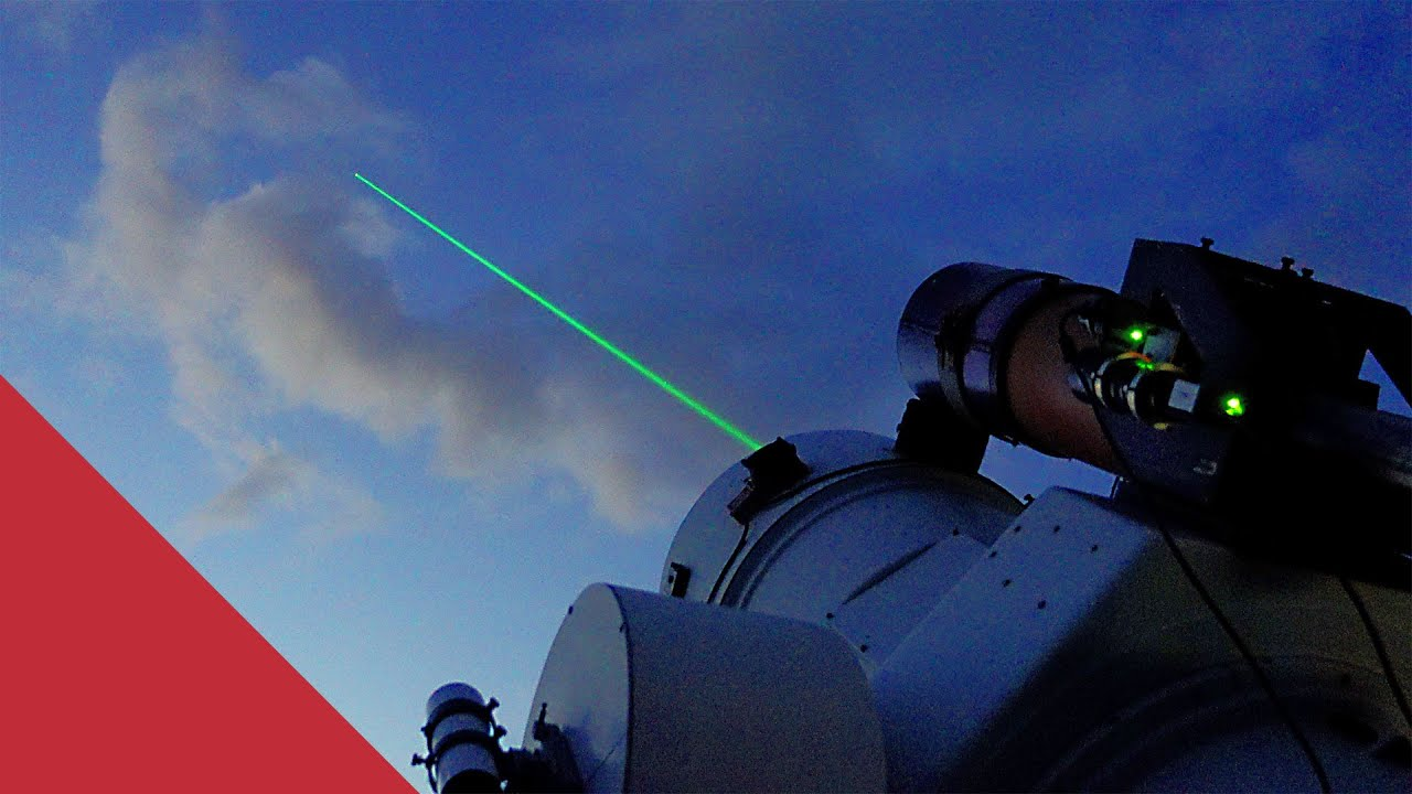 Why this Observatory fires lasers at Satellites