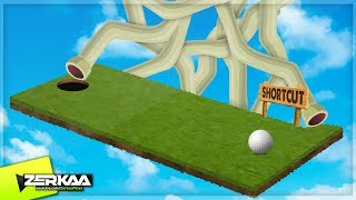 HARDEST HOLE IN ONE SHORTCUTS! (Golf It)