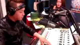 DJ Ronald Duck and DJ Cha-Cha Banter