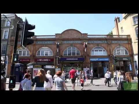 Visiting Earls Court in London