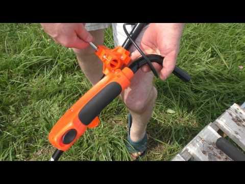 Как собрать триммер электрический видео
