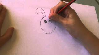 Zeichnung eine cartoon-Hund ist einfach!