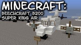 Minecraft: Beechcraft B200 Super King Air Tutorial