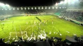 Salida de Deportes Temuco vs Iberia