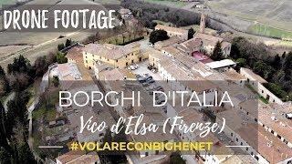 Drone Footage - Borghi d'Italia - Vico d'Elsa #volo1