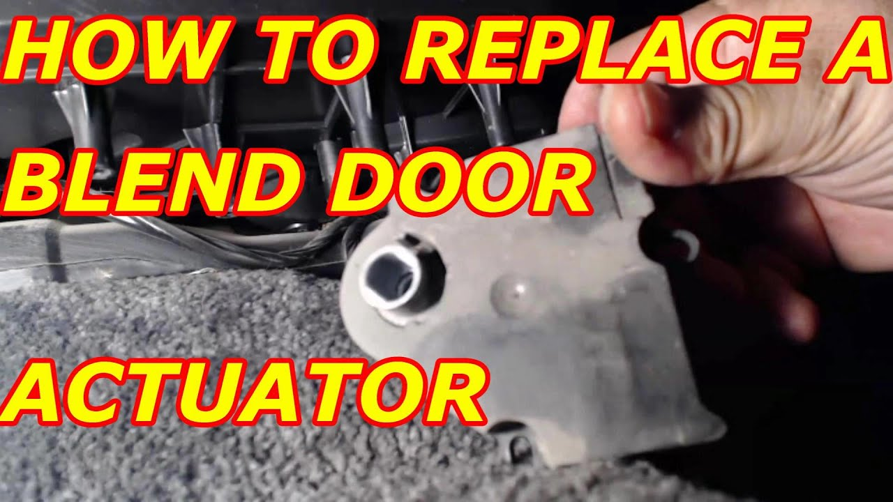 2016 Chevy Avalanche >> HOW TO REPLACE A BLEND DOOR ACTUATOR CHEVY TAHOE - YouTube