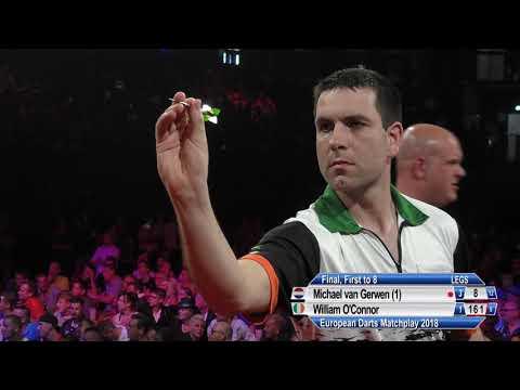 Van Gerwen v O'Connor - FINAL - European Darts Matchplay 2018