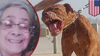 米ミシガン州に住むエリザベス・リベラさん(71)が、自宅で飼い犬に襲...