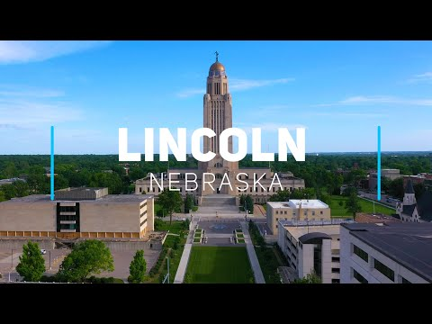 Lincoln, Nebraska | 4K drone footage