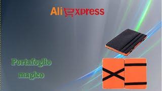 Aliexpress unboxing haul cina (83) - Portafoglio magico (magic wallet / carteira magica)