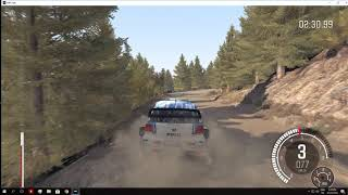 DIRT RALLY VW POLO WRC GREECE ACROPOLIS ANODOU FARMAKAS PC LOGITECH G29 1080p 60fps