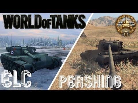 World of Tanks Replay | Pershing | ELC AMX