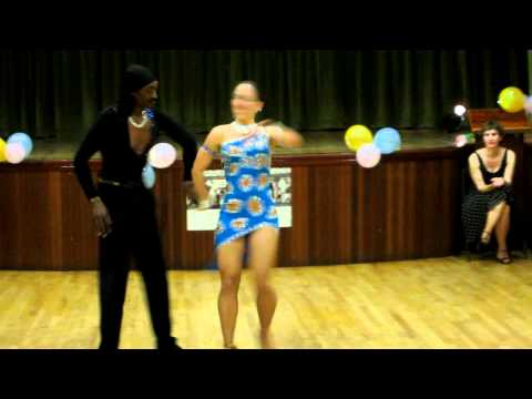 Phillip and Natalie - Salsa show at Inspiration 2 Dance Ball. London SW7