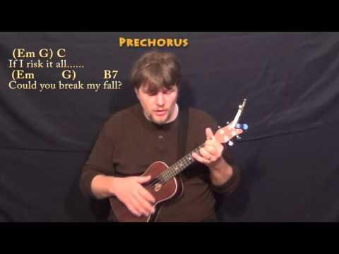 Writing's On The Wall (Sam Smith) Ukulele Cover Lesson In Em With Chords/Lyrics