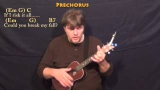 Writing's On The Wall (Sam Smith) Ukulele Cover Lesson in Em with Chords/Lyrics